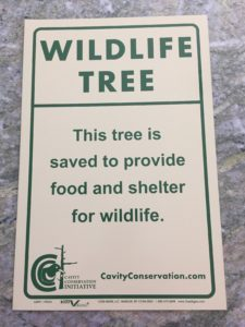 Cavity Conservation sign